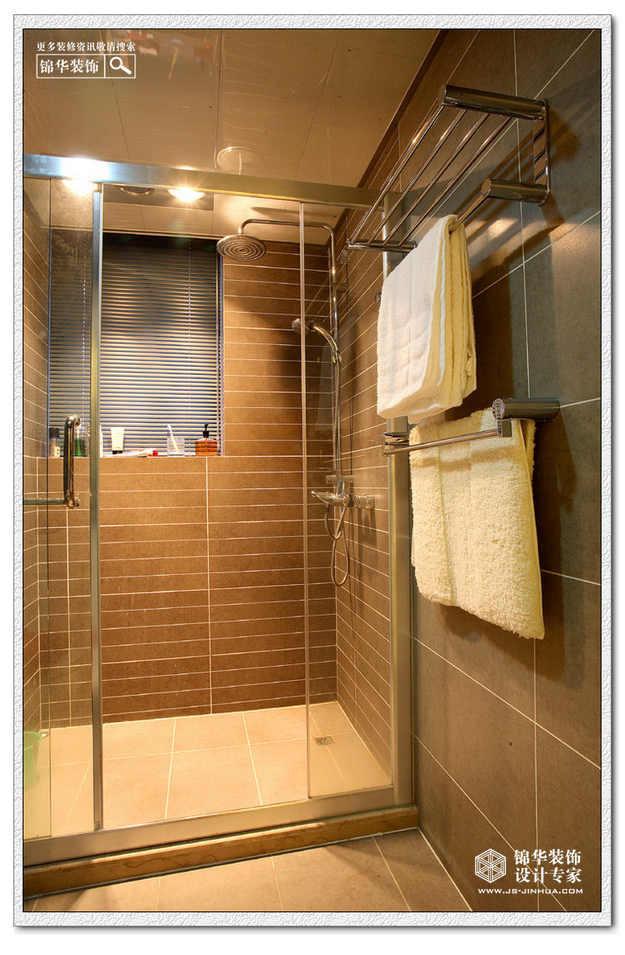 二居室 140㎡ 卫生间装修效果图 锦华装饰 装修实景案例 高清图片